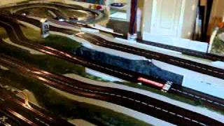 Carrera Digital 132 Slot Car Home Layout