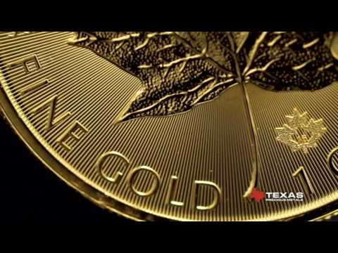 Canadian Gold Maple Leaf Bullion Coin - Texas Precious Metal