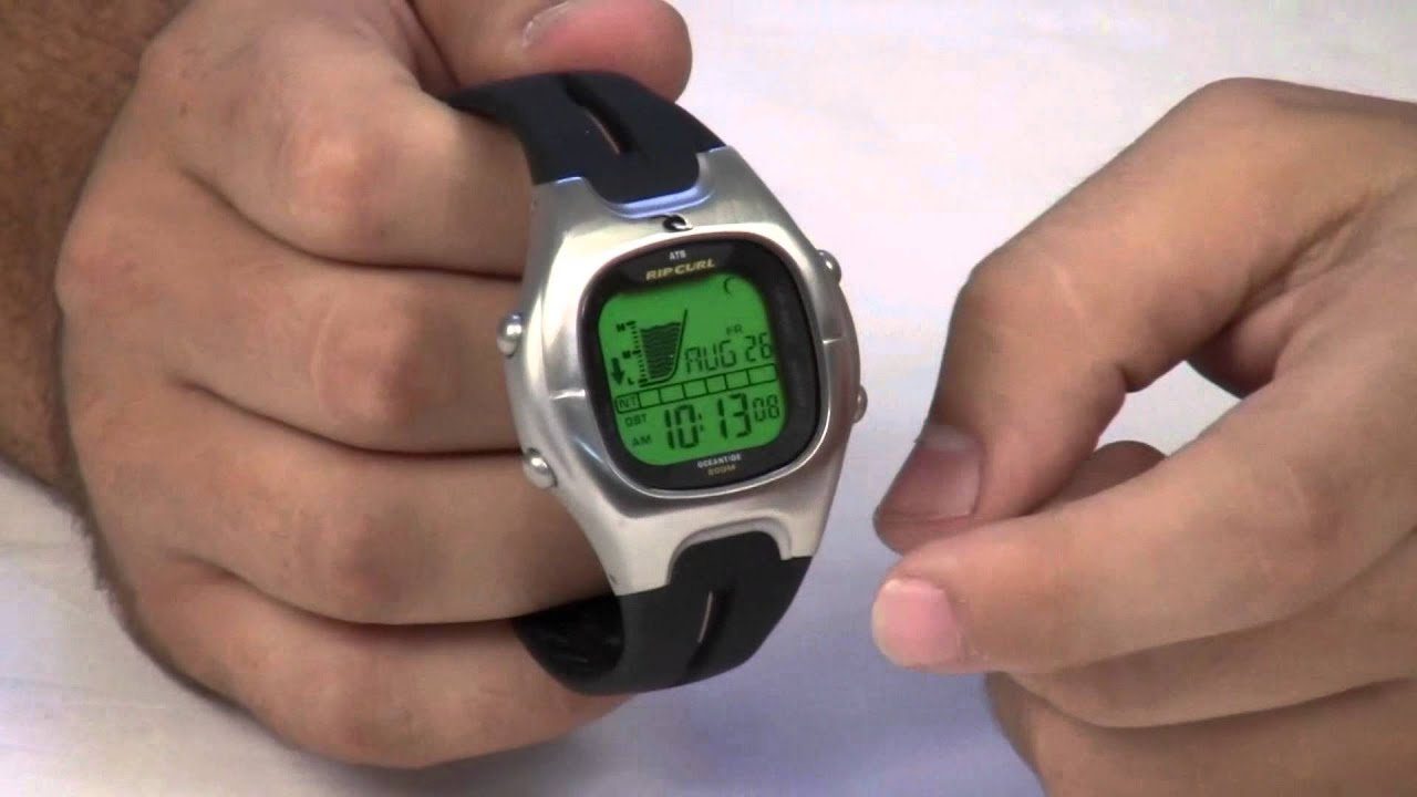 Rip Curl GPS Watch Review - YouTube