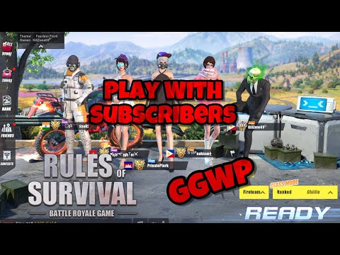 Playing With Subscribers   Rules Of Survival -Ep.35 -PrivatePlork