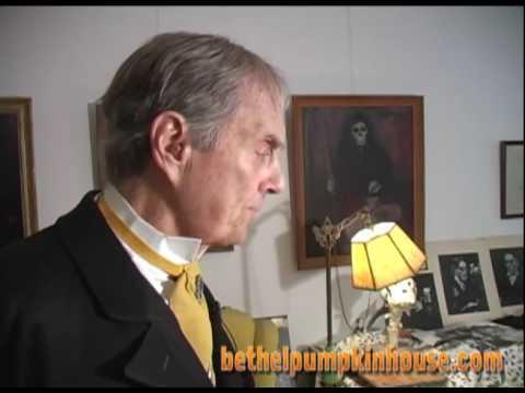 John Zacherley host Bethel Pumpkin House TV