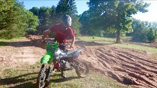 PIT BIKE BROUGHT BACK TO LIFE!!!
