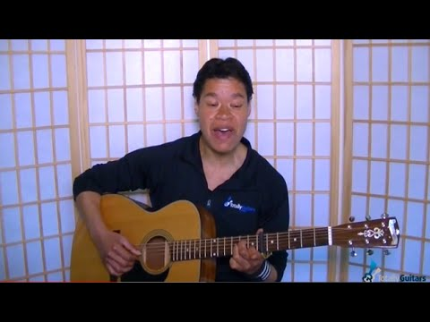 Flightless Bird American Mouth By Iron Wine Guitar Lesson