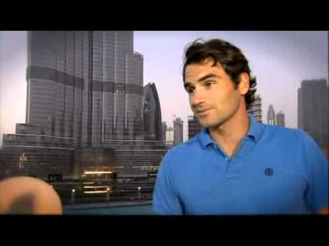 Tennis Champion Roger Federer At Palace Downtown