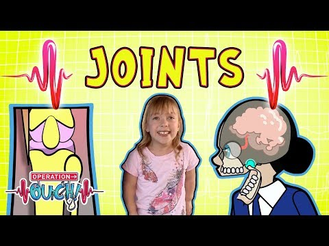 Science For Kids | Body Parts - Joints & Skeletal System | Experiments For Kids | Operation Ouch