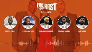 First Things First audio podcast(5.29.19)Cris Carter, Nick Wright, Jenna Wolfe | FIRST THINGS FIRST