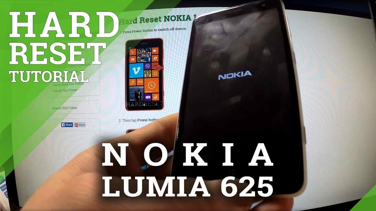 how to unlock lumia 520 password