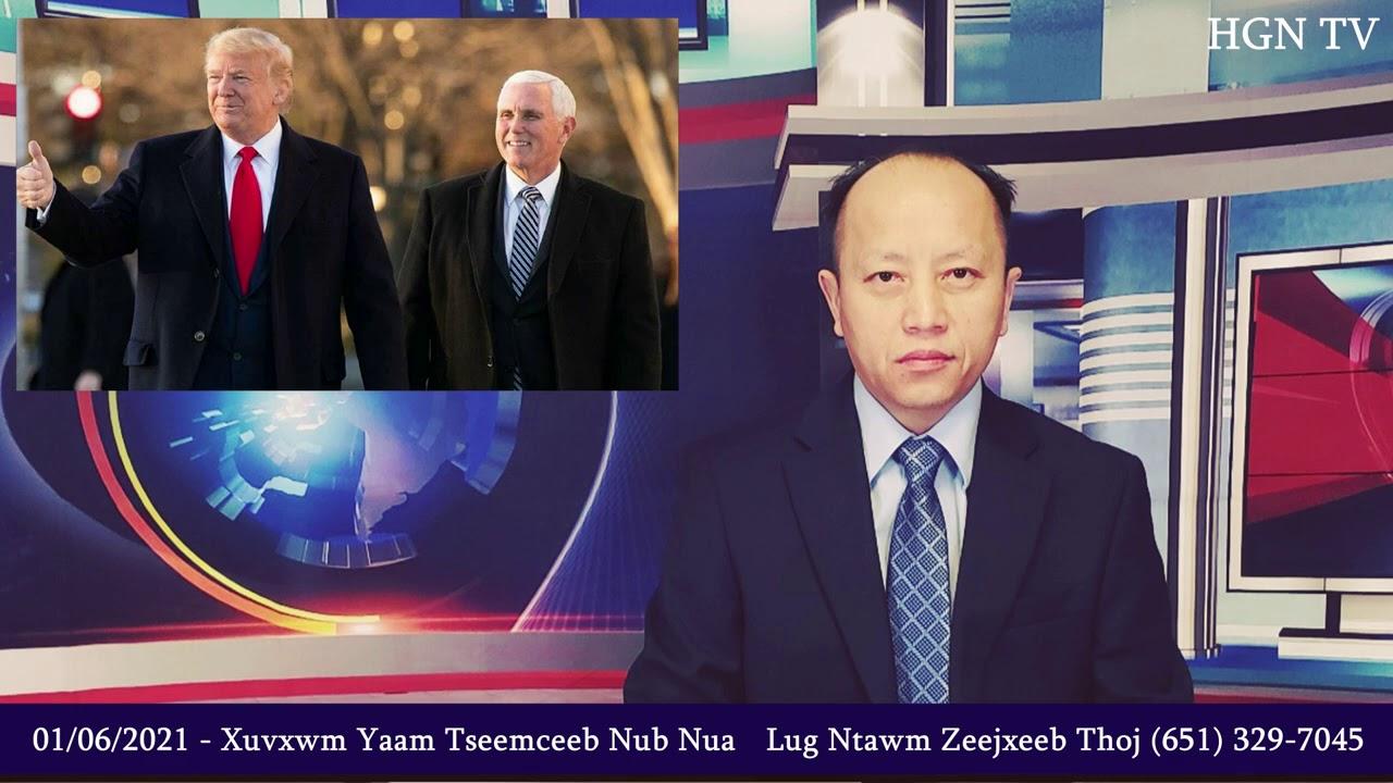 01/06/2021 - Xuvxwm - Trump & Biden Leejtwg Yuav Raug Xaiv Nub Nua - Jack Ma Pluj Pawv Lawm