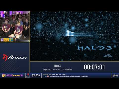 #ESASummer18 Speedruns - Halo 3 [Legendary] by Sorix