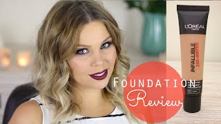 Loreal Infallible Matte First Impressions Review