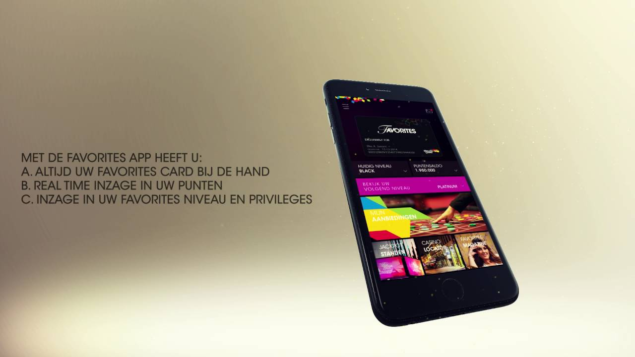 Holland Casino Favorites App