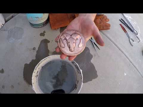First Copper Casting
