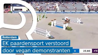 EK Paardensport verstoord