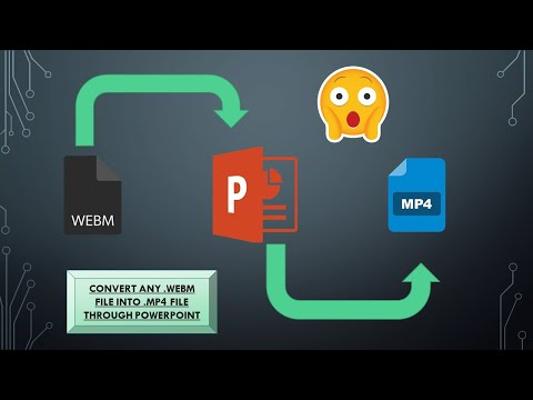 How to convert webm to mp4 on pc offline for free in 2020 [100% working]