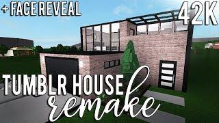 ROBLOX - France Bloxburg Remakes: Tumblr House - FACE REVEAL