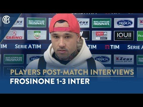 FROSINONE 1-3 INTER | RADJA NAINGGOLAN INTERVIEW: 'I want to give my all for Inter'