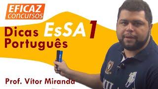 Questões EsSA 1 -  Português