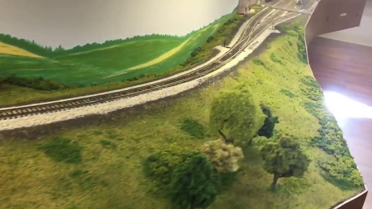 Model Rock Island Railroad Layout On Youtube