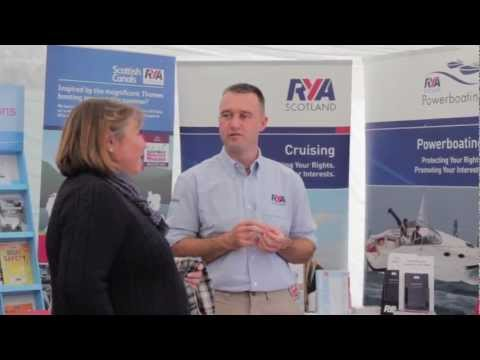 Royal Yachting Association at Kip Boat Show - October 2012 - RYA Scotland