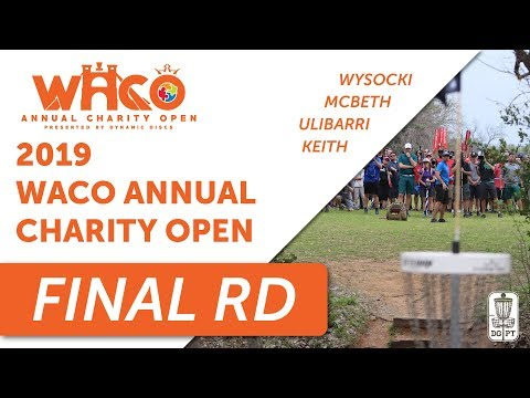 DGPT: Waco Annual Charity Open presented by Dynamic Discs - MPO - Round 3