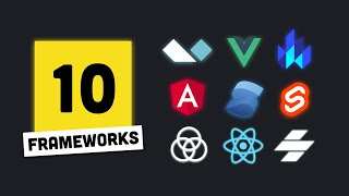 I built the same app 10 times // Which JS Framework is best?