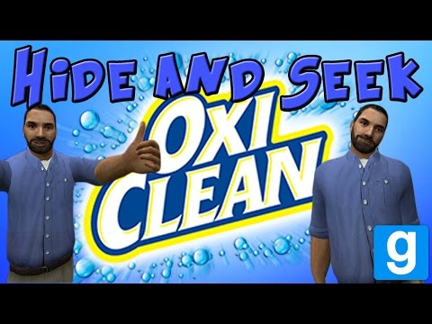 Not Just Clean... Oxi Clean | Billy Mays Hide and Seek | Gmod Minigame