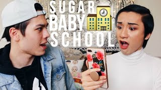 teaching my bff how to get a sugar daddy. iconic. thumbs up for mor...