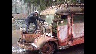 Sauvetage camion de pompiers Laffly _ janvier 2016