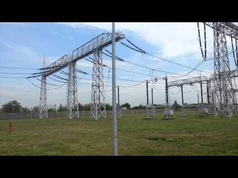 Corona partial discharge 400kV transformers