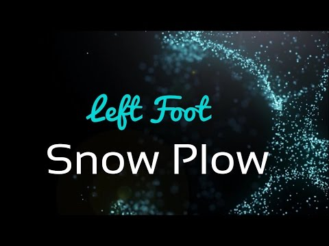 Roller Derby Left Foot Snow Plow