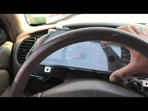 Toyota Sequoia How To Change Dash Board Light Bulb