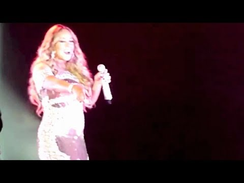 Mariah Carey - 14. AlI I Want For Christmas - Auld Lang Syne (LIVE Gold Coast 2013-01-01) COMPLETE P
