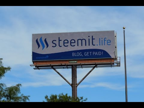 Steemdrive: Proof of Successful Crowdfunded Billboard Flight in Chicago, USA!