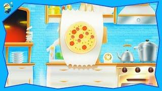 Дитячий мультик Я - маленький кухар, готуємо піцу Розвиваючий мультфільм про улюблені професії