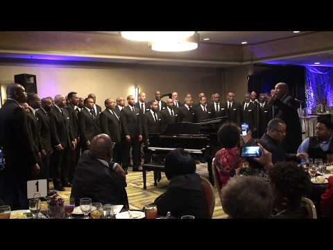 One Accord Men's Chorus First performance @ Dallas Metroplex Musicians' Assoc Scholarship Banquet