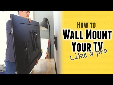 how-to-mount-a-tv-to-the-wall-(like-a-pro)