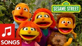 Sesame Street: I Love My Family Song with Julia's Family