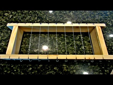 DIY Ten Wire Soap Cutter For $20  *Make It Yourself!*