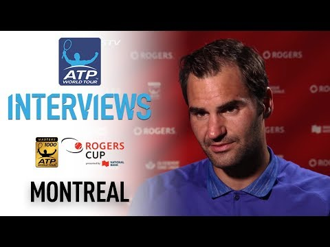 Federer Assesses QF Win Montreal 2017