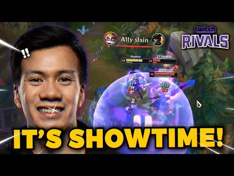 Shiphtur - TEAM SHIPHTUR HITS THE BIG STAGE!! (Twitch Rivals Day 1)