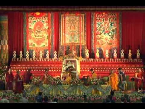 第七屆藏傳佛教直貢噶舉教主吉天頌恭紀念法會 紀實(一)