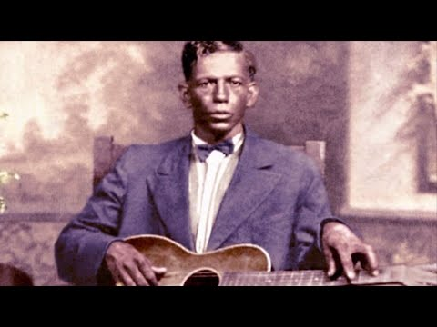 Down The Dirt Road Blues CHARLEY PATTON (1929, Delta Blues Guitar Legend)