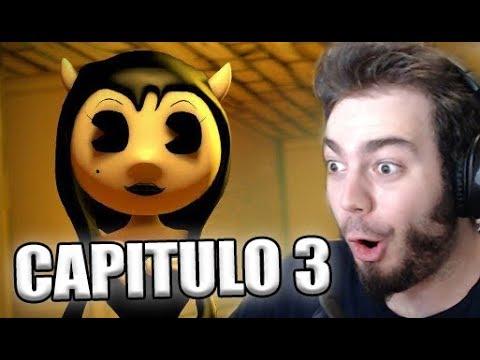 BENDY AND THE INK MACHINE CAPITULO 3 - CHAPTER TEASER TRAILER ANALYSIS / REACTION