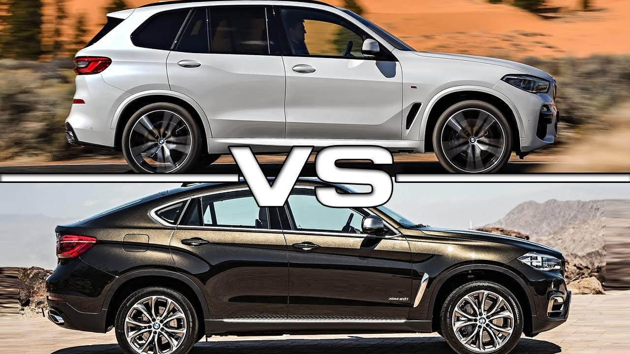 2019 Bmw X5 Vs 2018 Bmw X6 Technical Specifications Youtube