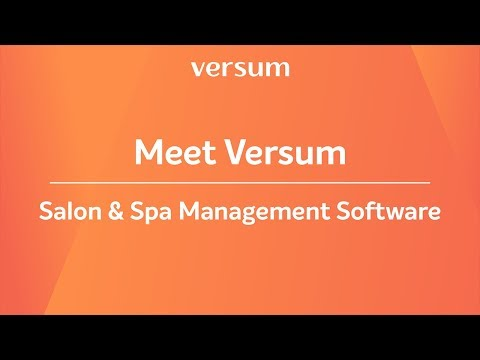 Hair & beauty salon software - Versum | Overview