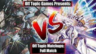 cardfight vanguard otm seven seas g1 rush vs sanctuary guard full match