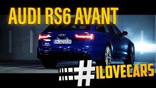 Der Audi RS6 Avant Performance und gebrannte Mandeln