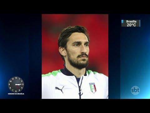 Capitão da Fiorentina é encontrado morto na Itália | SBT Notícias (05/03/18)