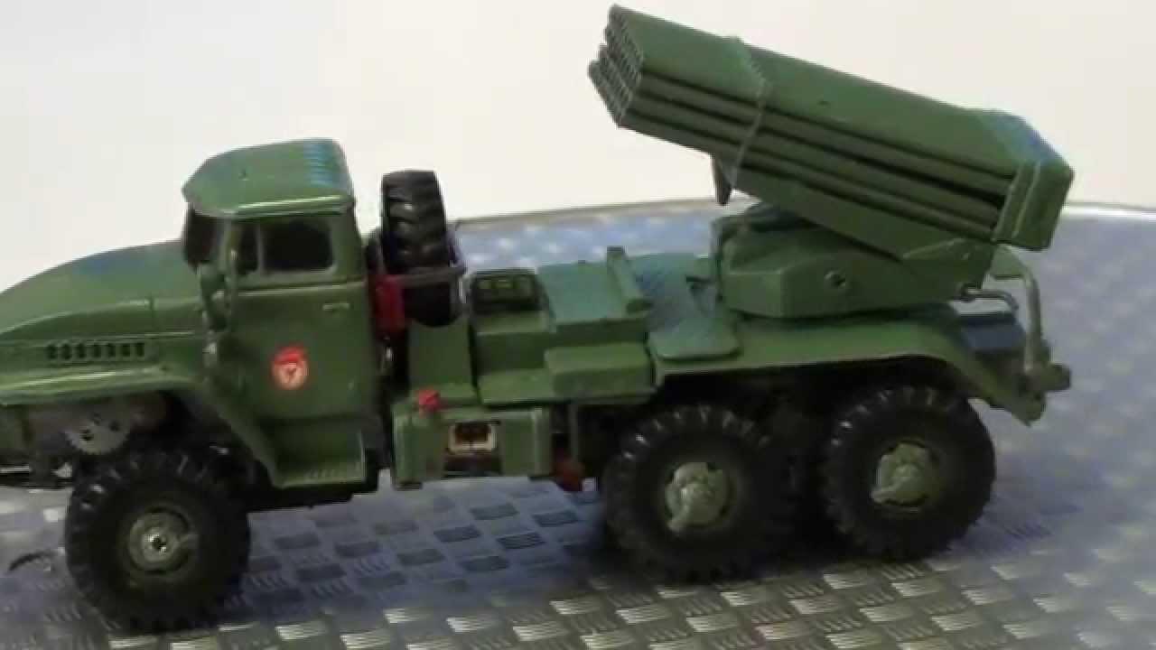 RC BM-21 Grad Katyusha Rocket Launcher 1/72