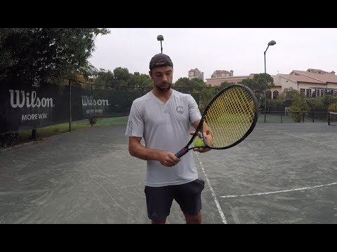 How Loose To Hold The Racquet | Forehand Lag (TENFITMEN - Episode 39)